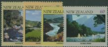 NZ SG1243-6 River Scenes set of 4